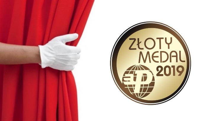 Opatentowane i klinicznie przetestowane krzesło SPINERGO MANAGER zdobyło nagrodę ZŁOTY MEDAL na Międzynarodowych Targach Meblowych Poznań 2019.